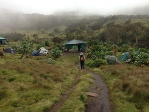 Arriving at Chenek camp