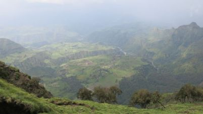 Views of Simien Mountains
