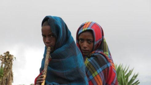 Ethiopian herd boys