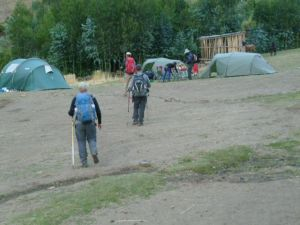 Arriving at Ambiko Camp