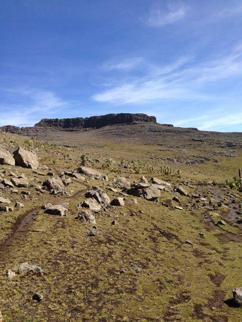 View of Ras Dashen
