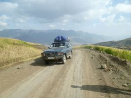 Returning to Gondar over Bawhit Pass